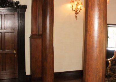Wooden-column-restoration
